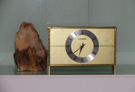 Nice Mid Century DUGENA Germany DESK CLOCK 60s by ...