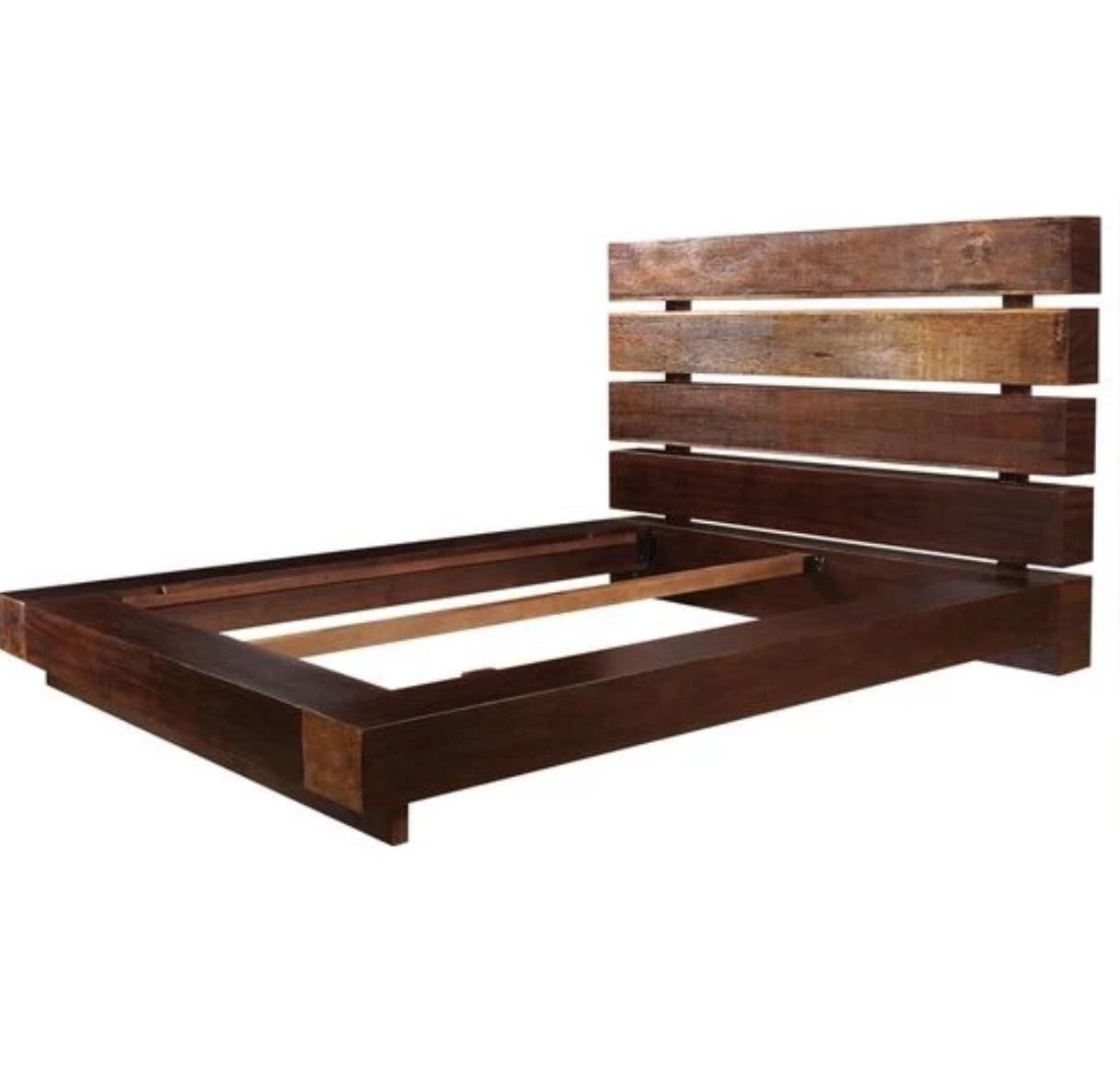 Reclaimed Queen Platform Bed By Four Hands King Platform Bed