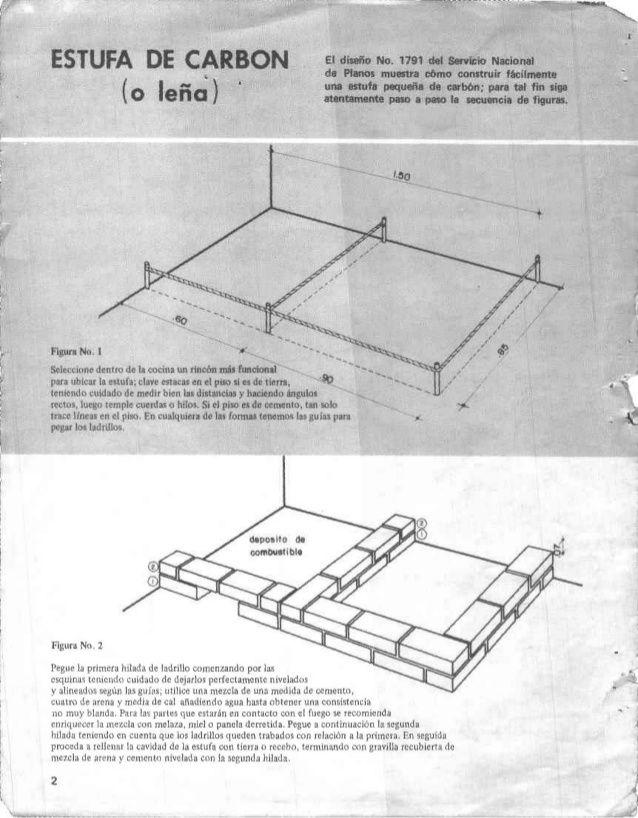 Manual construccion estufa cocinas in 2019 cocina a for Construccion de chimeneas de lena