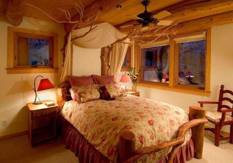 Decoracion r stica para los dormitorios juveniles con encanto habitaci n infant l para ni os y - Decoracion habitacion rustica ...