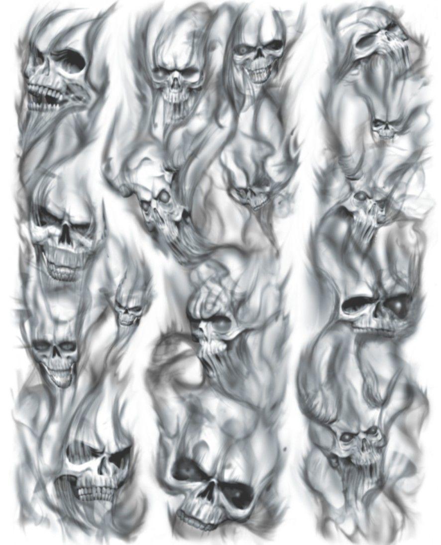 Tattoo Ideas Skull Sleeve Tattoos Skulls Drawing Smoke Tattoo