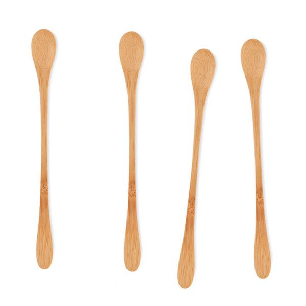 It's getting warmer....we're thinking cocktails with these 'stir it up' drink stirs made from certified organic bamboo http://www.bambuhome.com/products/stir-it-up-drink-spoons