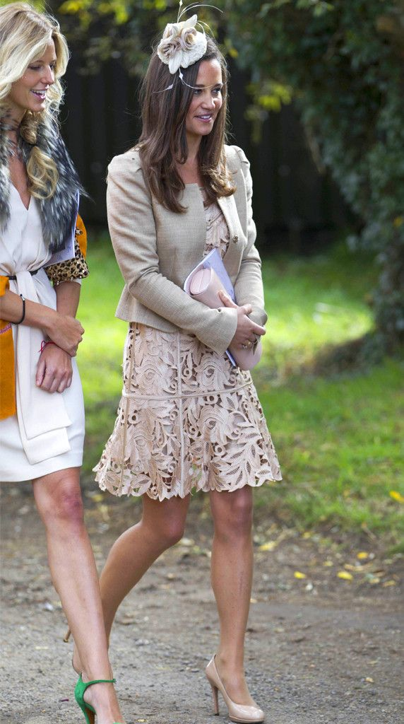 66e740d1ed There s a Pattern Here from Pippa Middleton s Wedding-Guest Looks ...