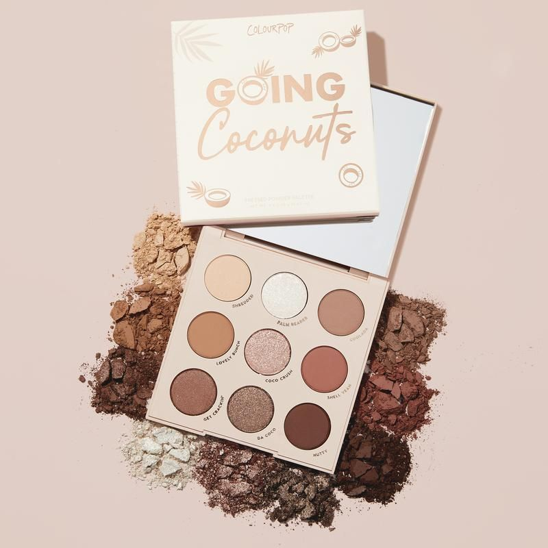 Going Coconuts Bronzed Eyeshadow Palette