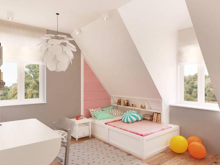10 extraordinaires chambres de fille - Chambre Scandinave Fille