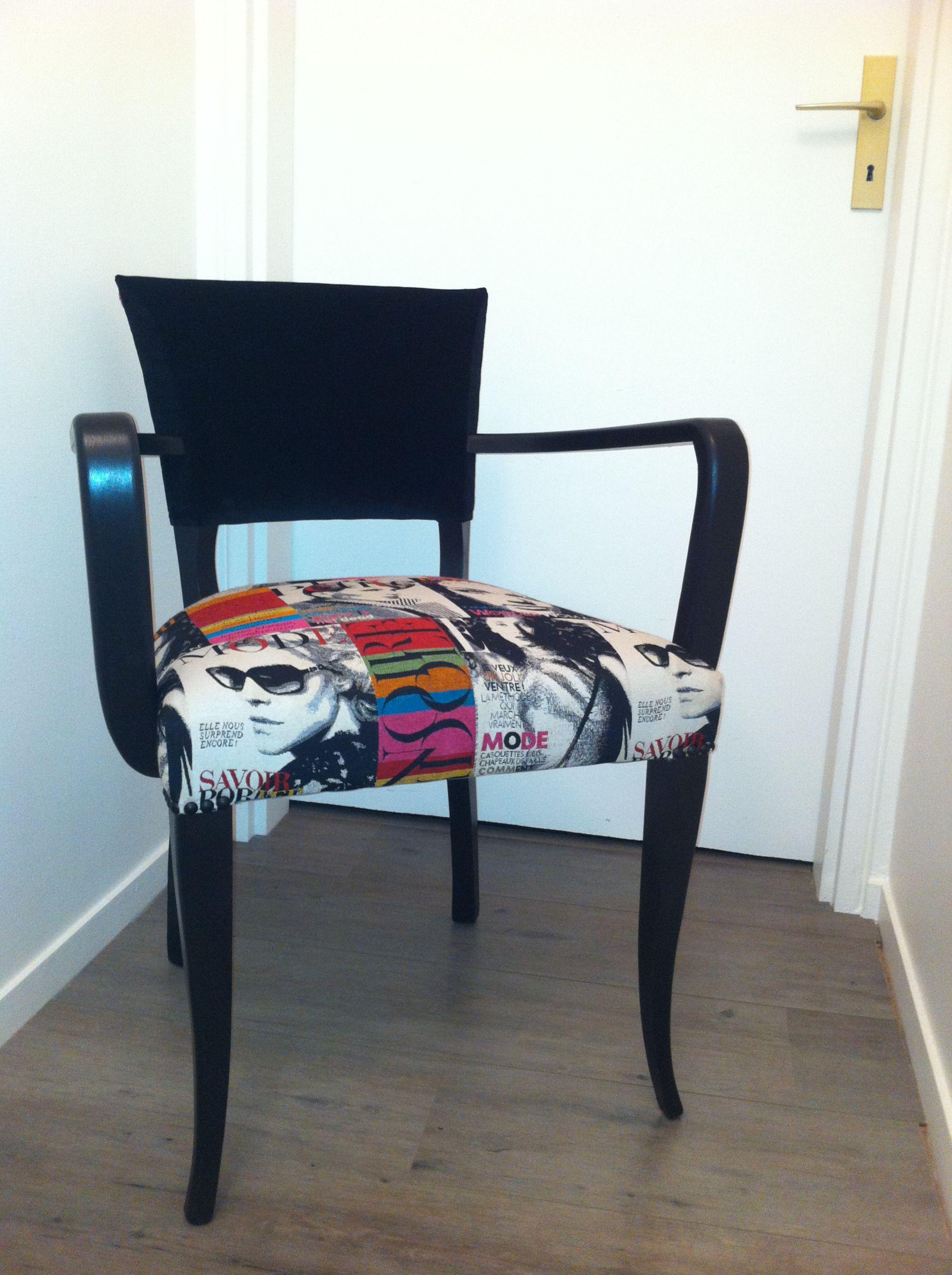 Fauteuil bridge de Passe  l Atelier Chair Makeover