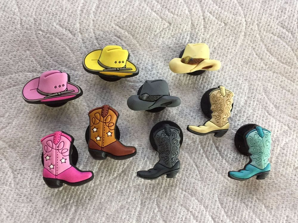 9d04481318f COWBOY JIBBITZ COWBOY SHOE CHARMS FITS CROCS COWBOY HAT & COWBOY BOOTS  JIBBITZ #Jibbitz. Find this Pin and ...