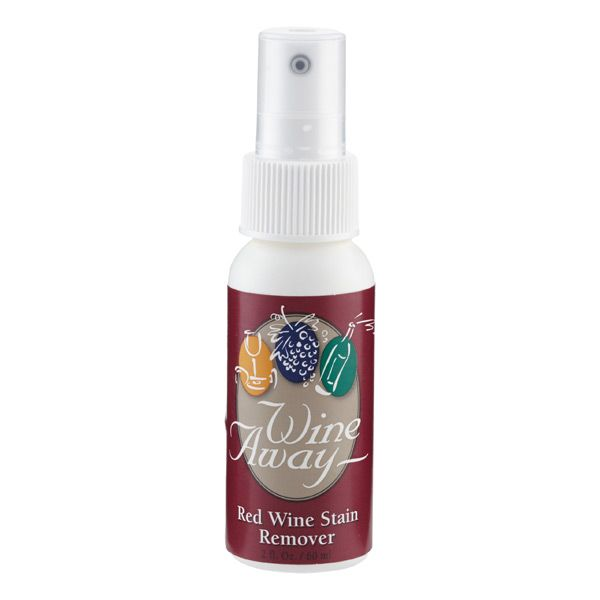 Stay Worry Free About Wine Spills And Stains With Our Wine Away Stain Remover Simply Blot The Stain Spray On Wine Aw Wine Stain Remover Wine Stains Wine Away