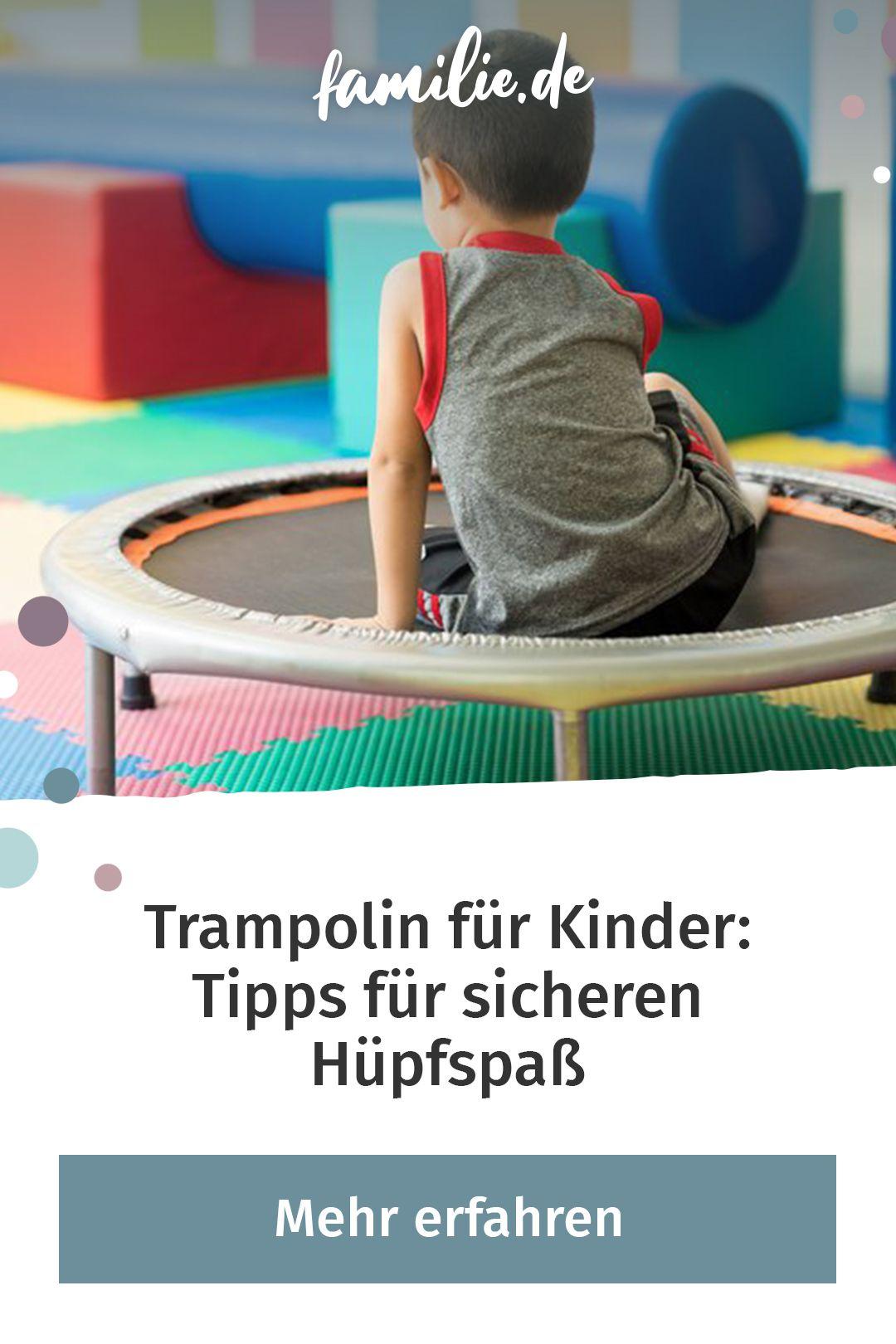Trampolin Fur Kinder Tipps Fur Sicheres Hupfen Trampolin Kinder Kinder Und Kinderkrankheiten