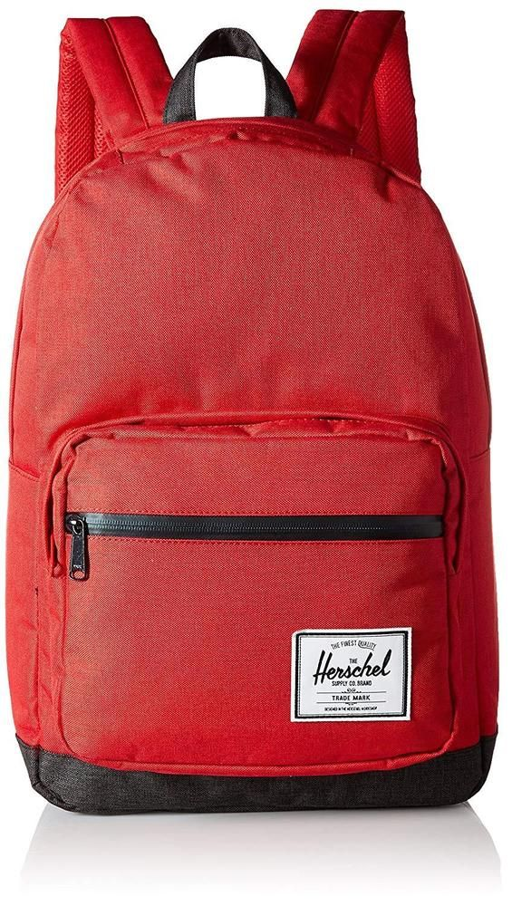 83b0c434e516 Enjoy Fast And Free Shipping Plus Free Returns When You Purchase This Herschel  Supply Co. Pop Quiz Backpack Barbados Cherry Black Zip One Size  Herschel  ...