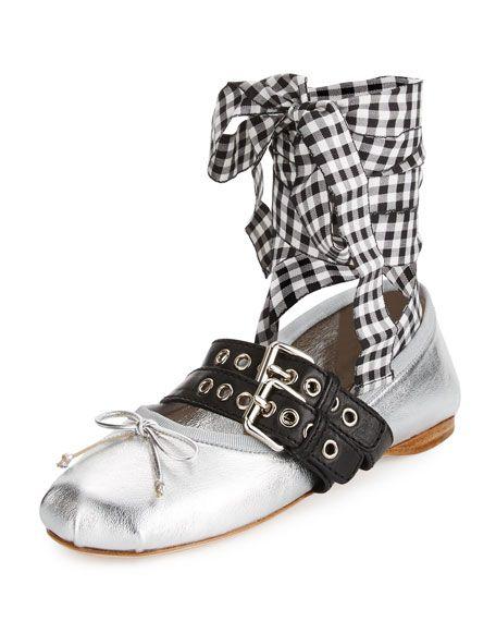 Miu Miu Ballerina sneakers FM6SoTt3k