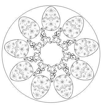 Pin Auf Mandala Ausmalbilder