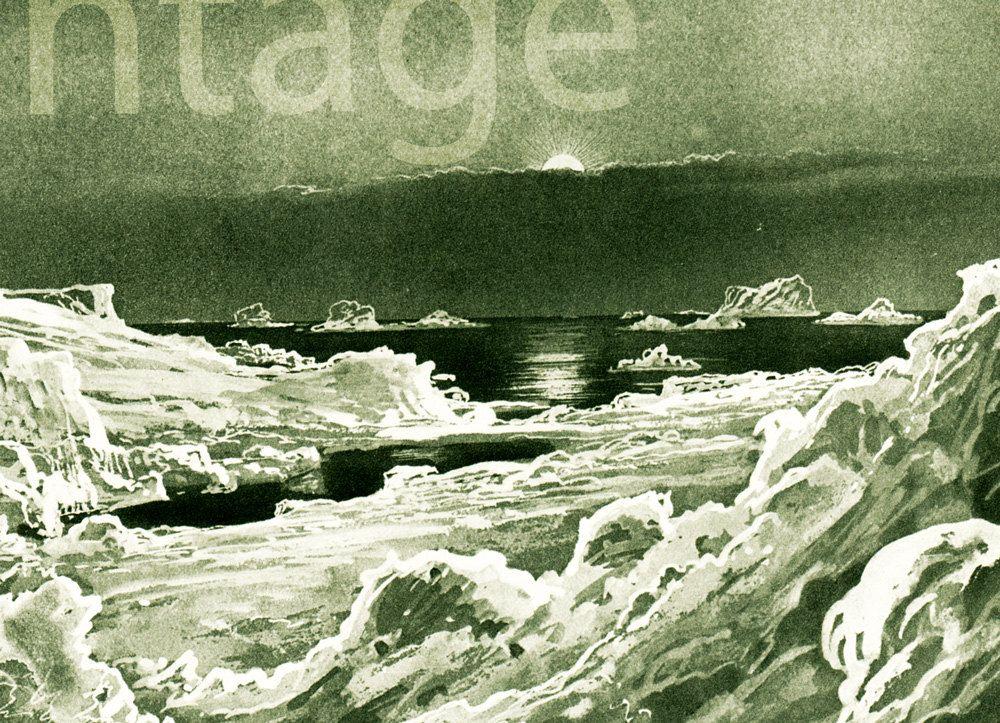 1937 Paysage De Mars Imaginaire Annees 30 Illustration Etsy Astronomy Landscape Mars Planet