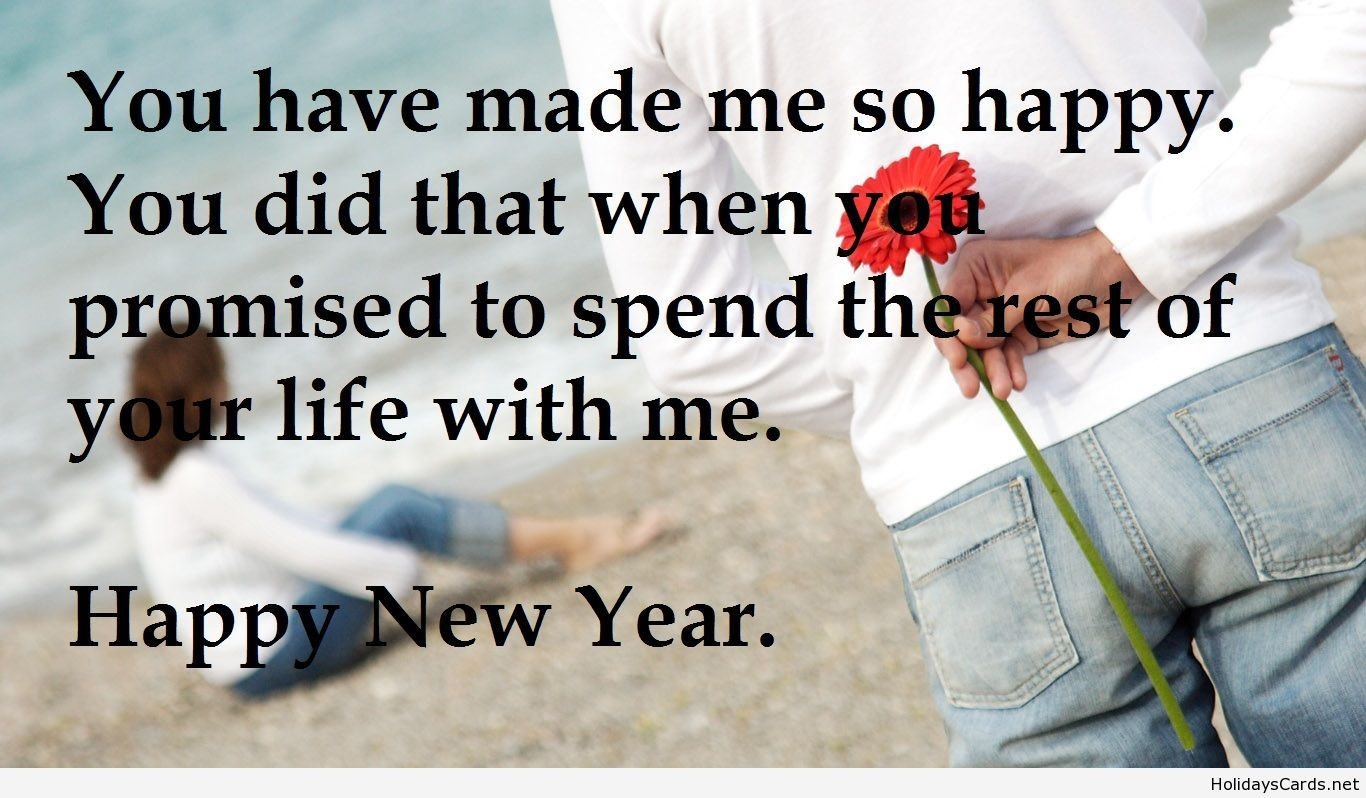 Happy love new year quote wallpaper | Happy New Year | Pinterest ...
