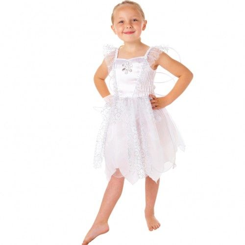 White fairy costume do it yourself pinterest tablewares childs white fairy fancy dress costume solutioingenieria Image collections