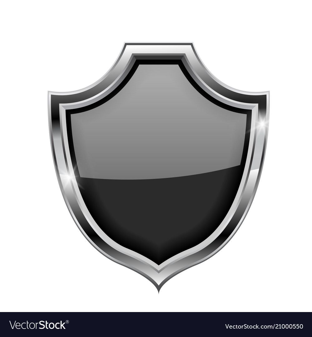 Black Security Shield Sign Vector 3d Illustration Isolated On White Background Download A Free Preview Or High Quality Adobe Il Shield Vector 3d Illustration