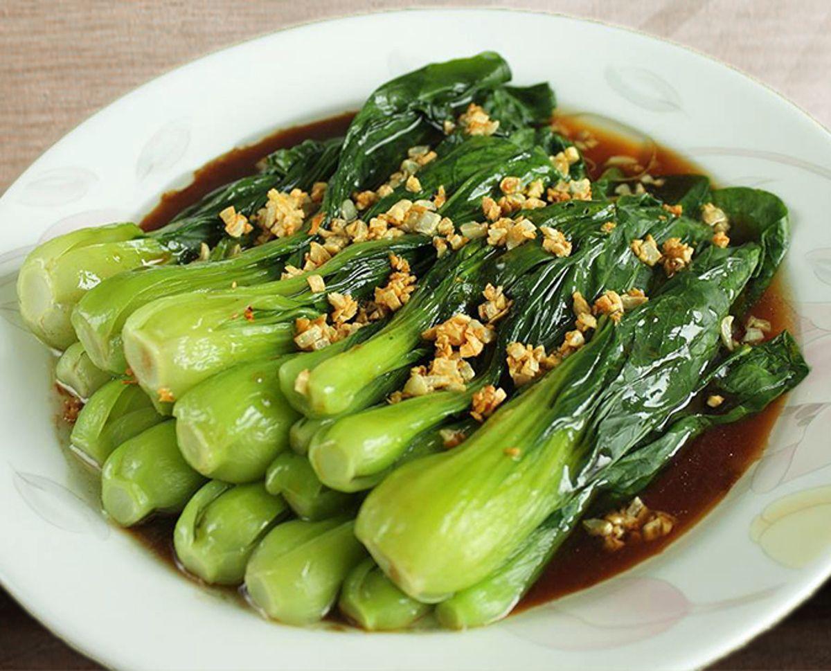 La recette facile de Bok Choy à la sauce aux huîtres!