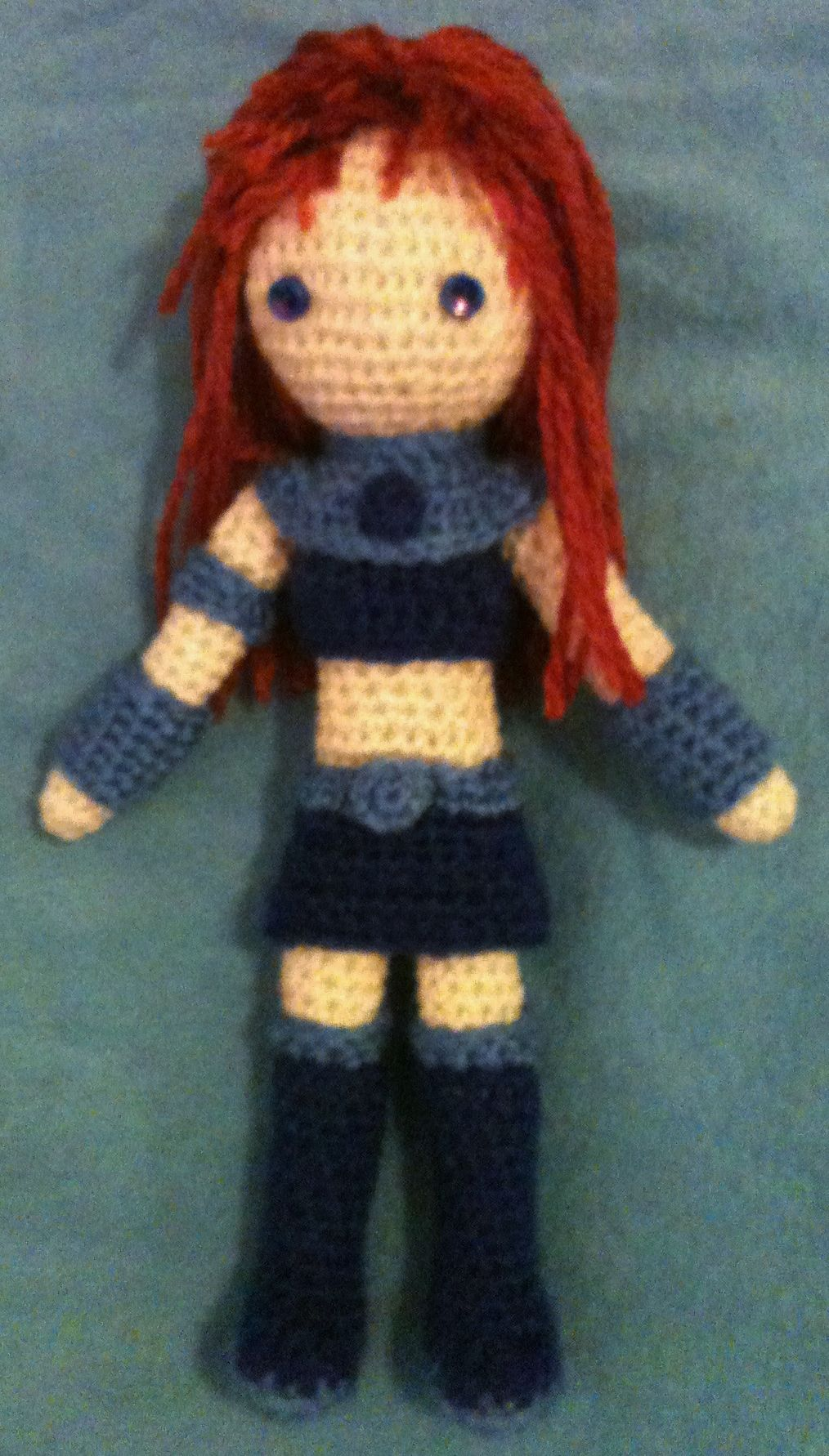 Crochet Amigurumi Ideas : Starfire, from