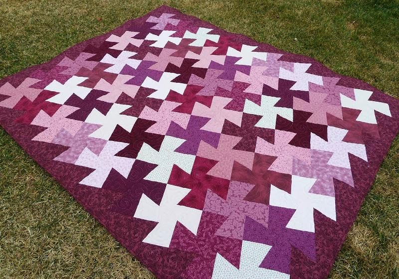 A Twister Quilt Tutorial - Made without the Special Ruler | Quilts ... : twister quilts - Adamdwight.com