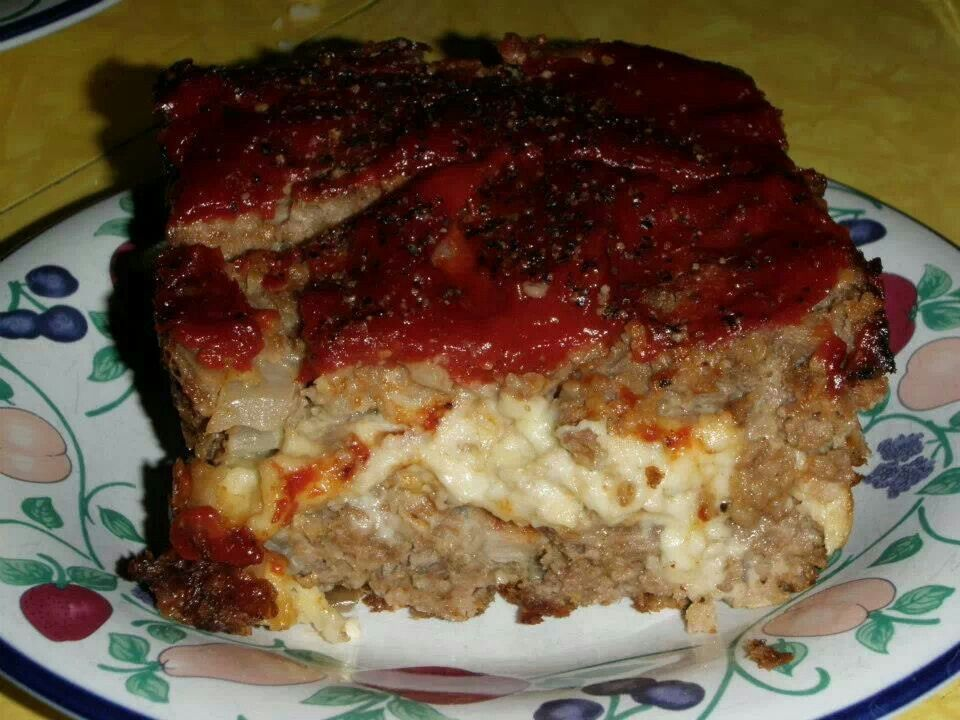 Cheesy Meatloaf | Main Dishes | Pinterest