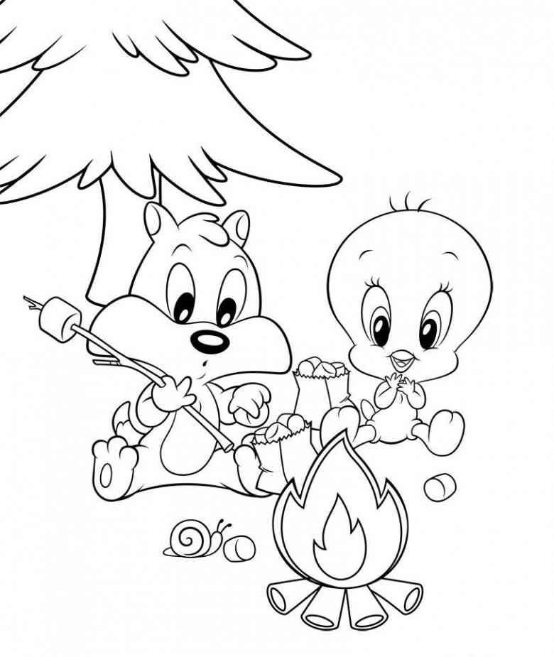 Baby Looney Tunes 31 Ausmalbilder Coloring Pages Baby Looney