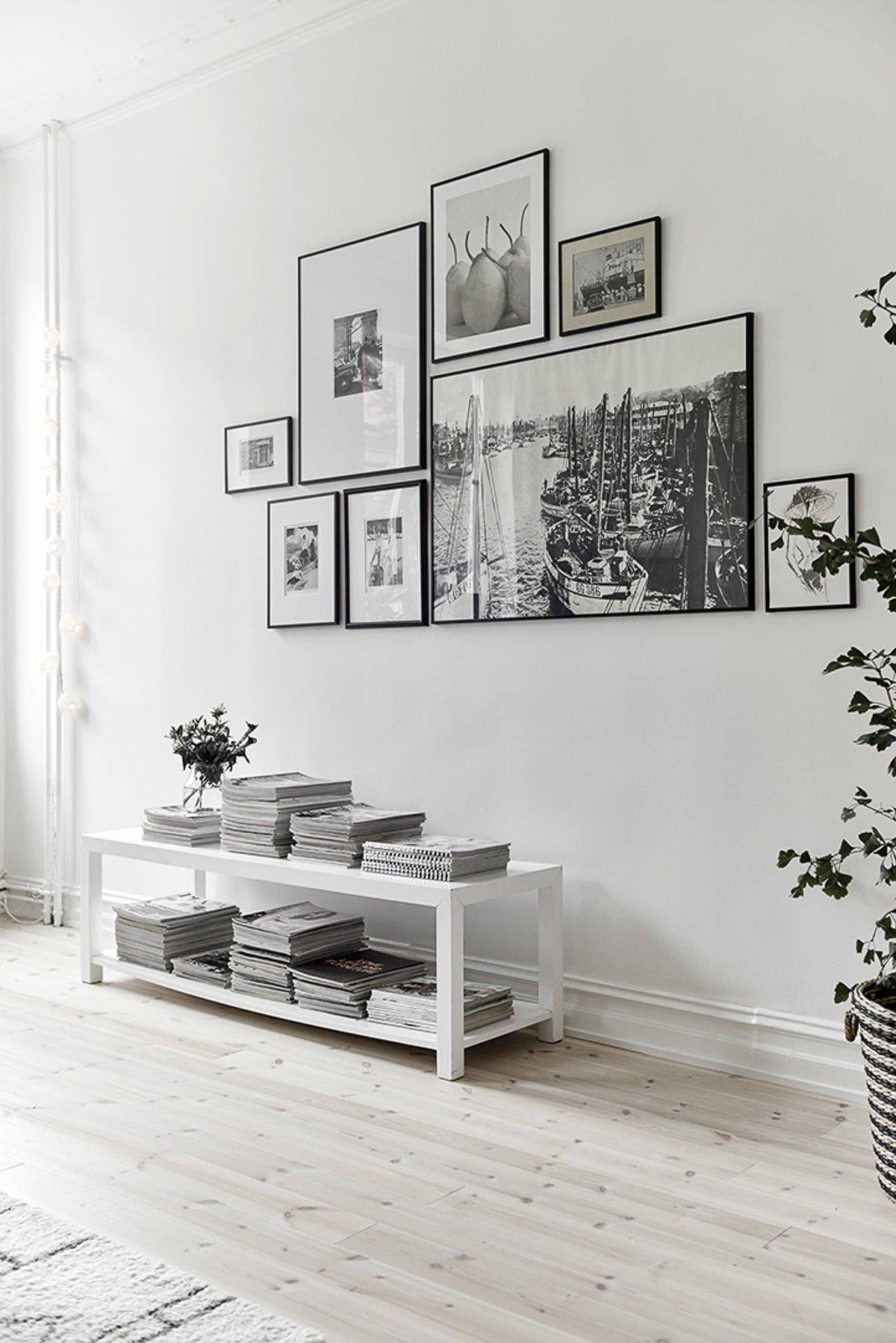 Composición de cuadros irregulares | Decoracion | Pinterest ...