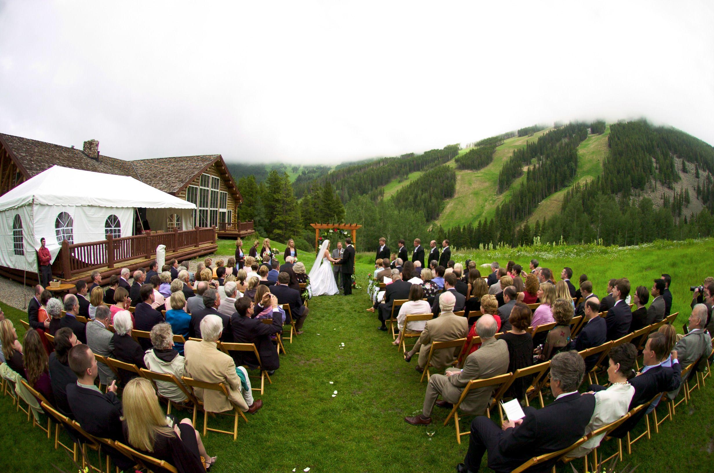 Beaver Creek Wedding Beanos Cabin Wedding Gorgeous Day For A Wedding  Ceremony At Beanou0027s Cabin,