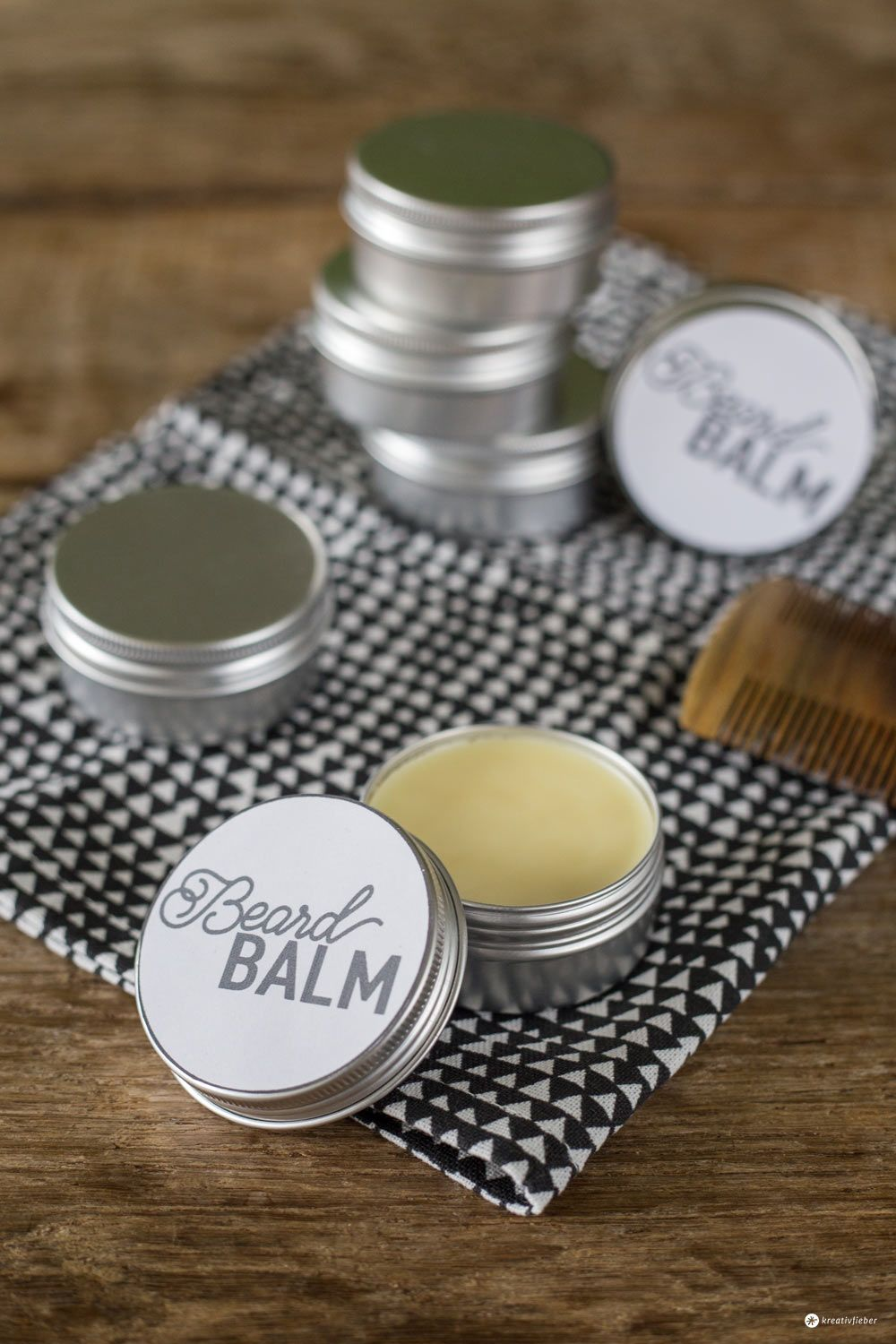 diy beard balm bart balsam selbermachen liebliches pinterest. Black Bedroom Furniture Sets. Home Design Ideas