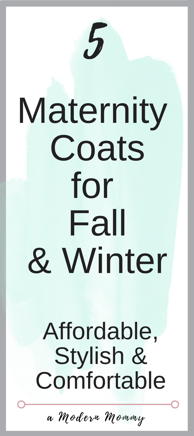 Maternity Coats for Fall and Winter to keep you Cozy