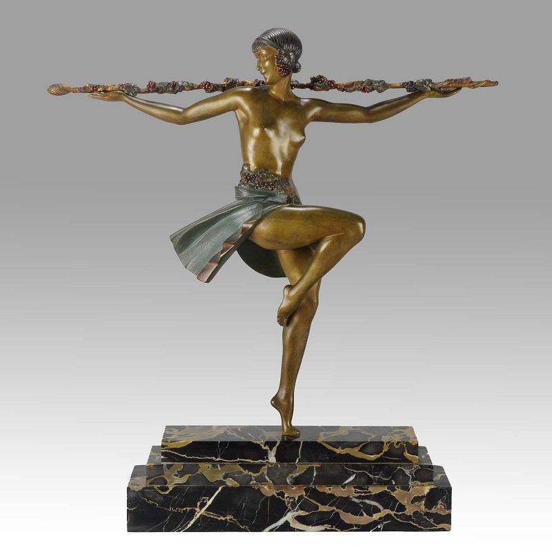 Dancer with Thyrsus - Pierre le Faguays - Hickmet Fine Arts