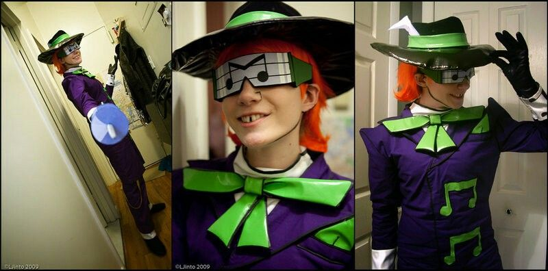 Haha She S The Music Meister From Batman The Brave And The Bold