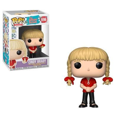The Brady Bunch Pop! Vinyl Figure Cindy Brady [696] #bradybunchhouse The Brady Bunch Pop! Vinyl Figure Cindy Brady [696] Here's the story of a lovely lady who was bringing up three very lovely girls and a man named Brady who was busy with three boys of his own. Think your house is ready for a blended Pop! family? The iconic Brady Bunch is looking for a new home and while the crew would prefer a house with shag carpeting, they're willing to make exceptions. #bradybunchhouse