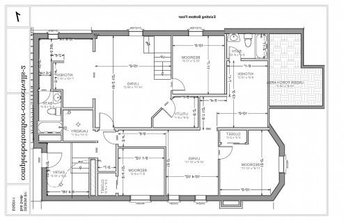 Interior Design, Excellent Basement Remodel Floor Plan
