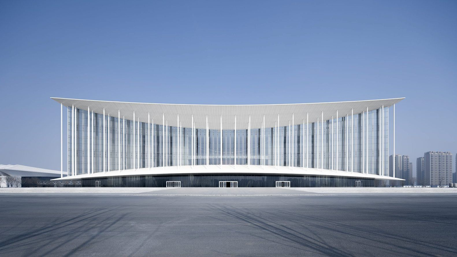 Gallery Of Xian Conference Center Gmp Architects 2 Chinese Architecture Architect Xi An