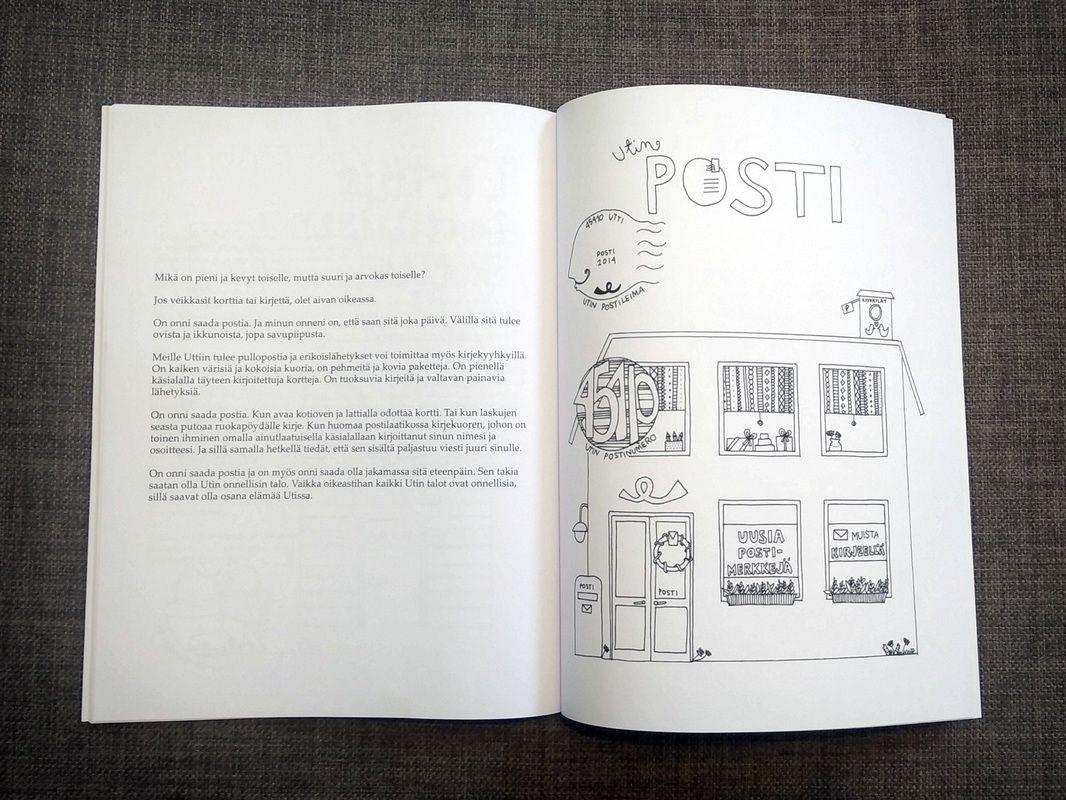 Utin talot tarinoivat on Värinauttien uusin värityssatukirja