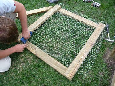 Easy Garden Fence W/ Gate