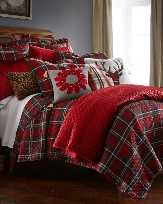 Tartan Decorative Quilt From Nina Home By Nina Campbell Fq Quilt