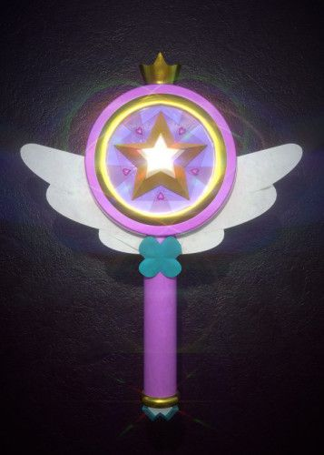 Star Buttlerfly First Wand by R O   metal posters   Things