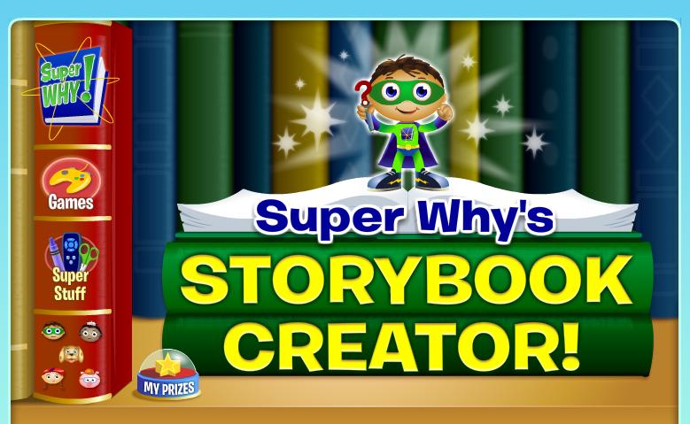 Storybook Creator Pbs Super Why Speaking English Literacy