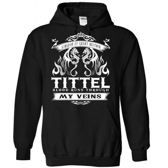 cool I love TITTEL T-shirt, TITTEL Surname Hoodie