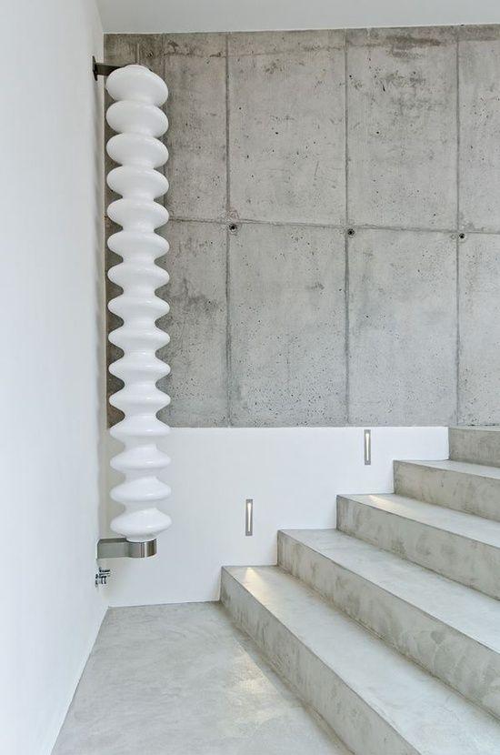 14x beton in een interieur | wohnen | Pinterest | Haus, Sichtbeton ...