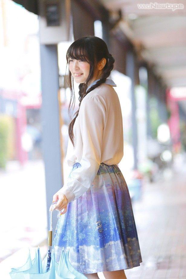 三つ編みの上田麗奈