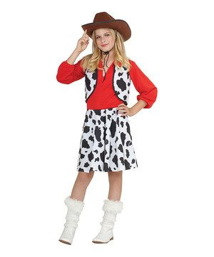 Look What I Found On Zulily Black White Cowgirl Dress Up Outfit