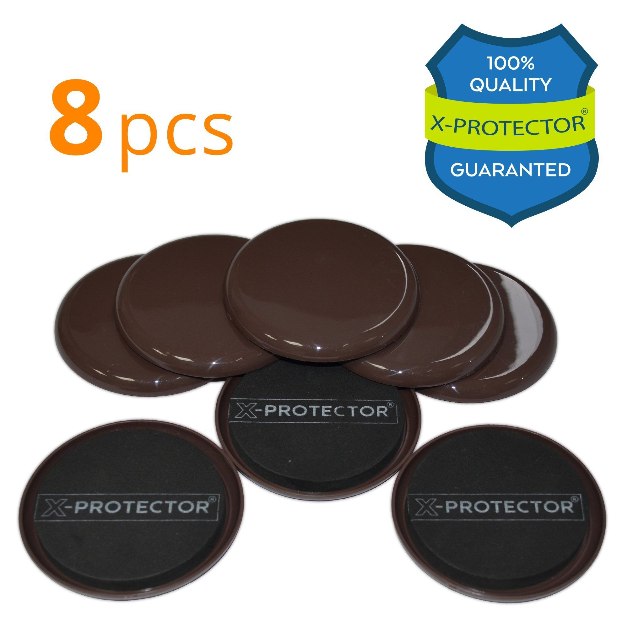 Attirant Furniture Sliders For Carpet X PROTECTOR U2013 BEST 8 Pack 3 1/2 Inch Moving  Pads   Sliders For Furniture. Move Your Furniture Easy With Reusable  Furniture ...