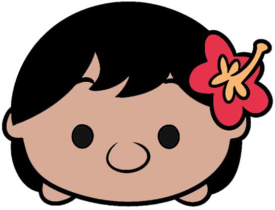 Disney Tsum Tsum Clipart 9: Disney Cuties Black And White