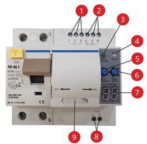 Resultado de imagen para interruptor diferencial con for Diferencial rearme automatico
