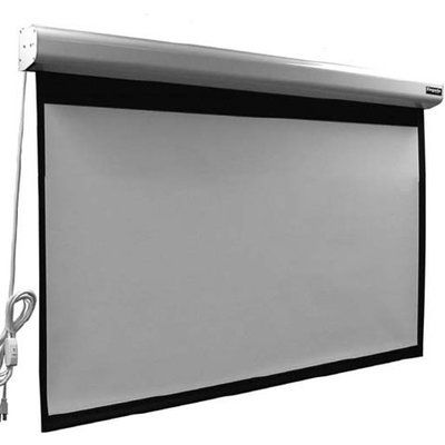 Vutec Elegante Matte White 110 Diagonal Electric Projection Screen Wayfair In 2020 Projection Screen Projection Screens Electric Screen