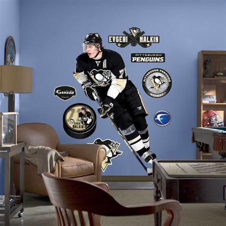 Fathead Pittsburgh Penguins Evgeni Malkin - Wall Sticker Outlet & Fathead Pittsburgh Penguins Evgeni Malkin - Wall Sticker Outlet ...