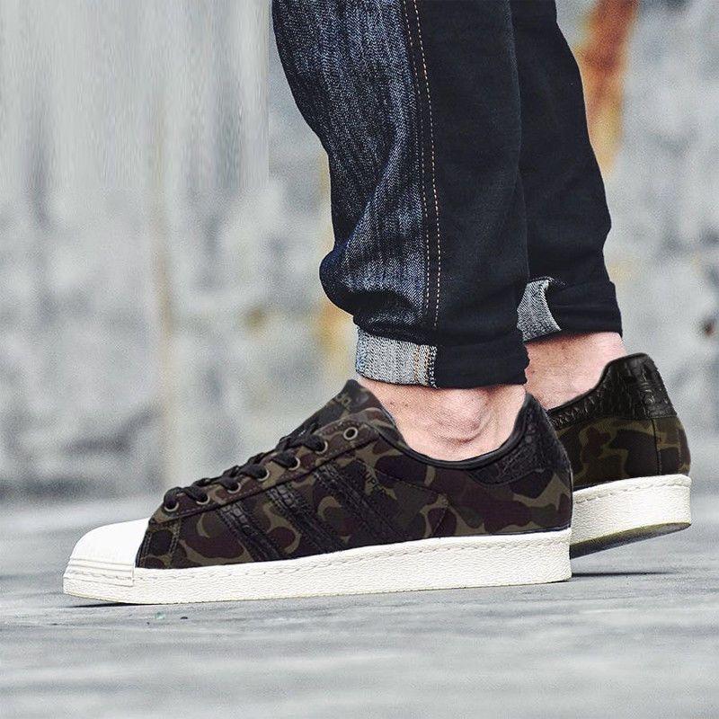 Adidas Superstar Black White Footweart