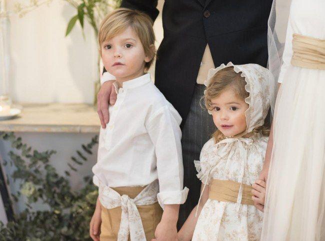 los pajes de la boda: recomendaciones para vestirlos bien | bodas